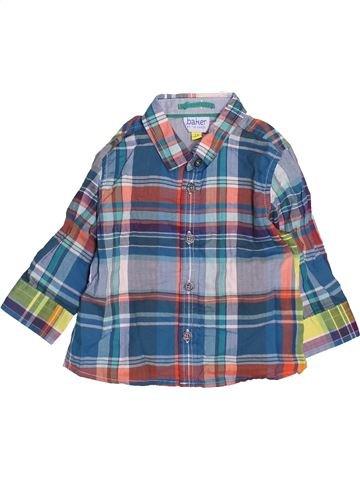 Chemise manches longues garçon TED BAKER gris 6 mois hiver #1489954_1