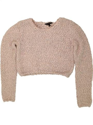 Pull fille CANDY COUTURE beige 13 ans hiver #1490007_1