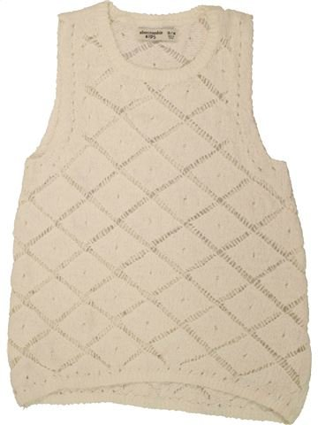 Pull fille ABERCROMBIE ET FITCH beige 14 ans hiver #1490026_1