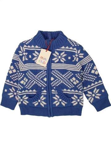 Gilet garçon MINI CLUB bleu 12 mois hiver #1490141_1
