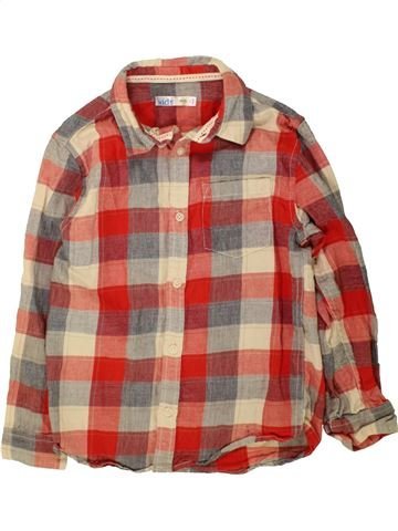 Camisa de manga larga niño M&CO marrón 7 años invierno #1490223_1