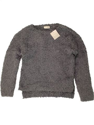 Pull fille NEXT gris 7 ans hiver #1490272_1