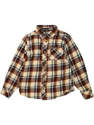 Camisa de manga larga niño BOYS marrón 7 años invierno #1490321_1