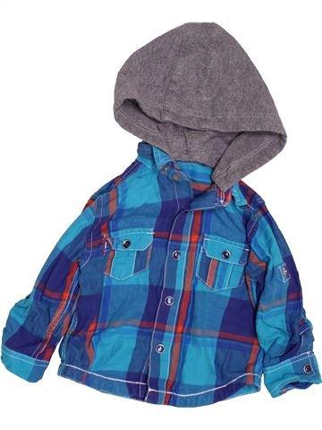 Chemise manches longues garçon MINICLUB bleu 12 mois hiver #1490438_1