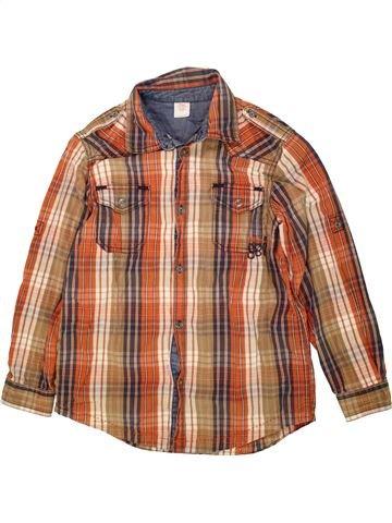 Chemise manches longues garçon S.OLIVER marron 10 ans hiver #1490454_1