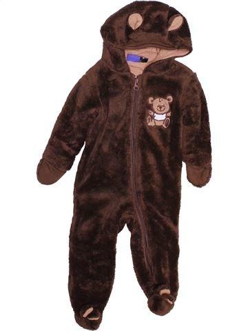Robe de chambre garçon LUPILU marron 6 mois hiver #1490492_1