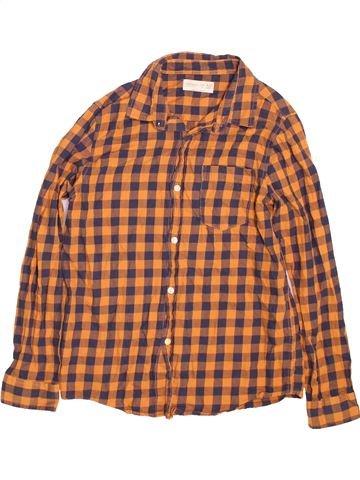 Chemise manches longues garçon ZARA orange 10 ans hiver #1490502_1