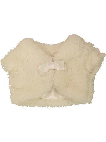 Chaleco niña BHS blanco 9 meses invierno #1490596_1