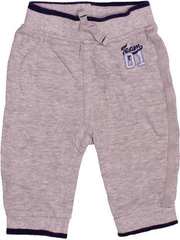 Pantalon garçon GEORGE gris 6 mois hiver #1490605_1
