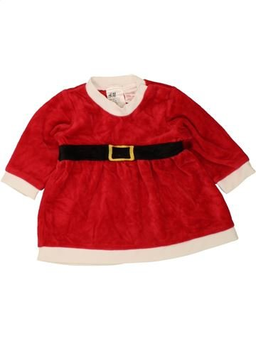 Robe fille H&M rouge 6 mois hiver #1490626_1