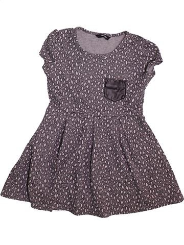 Robe fille GEORGE gris 6 ans hiver #1490692_1