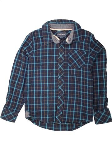 Camisa de manga larga niño CHEROKEE azul 9 años invierno #1490785_1