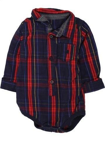 Chemise manches longues garçon NUTMEG noir 12 mois hiver #1490806_1