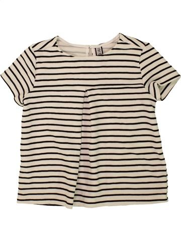T-shirt manches courtes fille DUNNES STORES bleu 8 ans été #1490893_1
