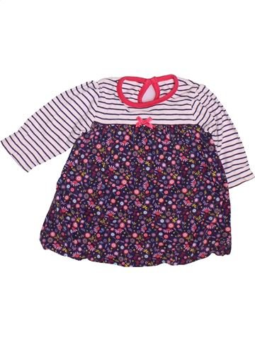 Robe fille GEORGE violet 3 mois hiver #1490920_1