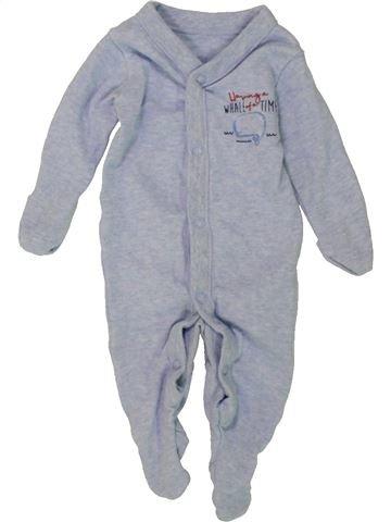 Pijama de 1 pieza niño F&F azul 0 meses verano #1491125_1