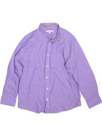 Camisa de manga larga niño BLUEZOO violeta 8 años invierno #1491142_1