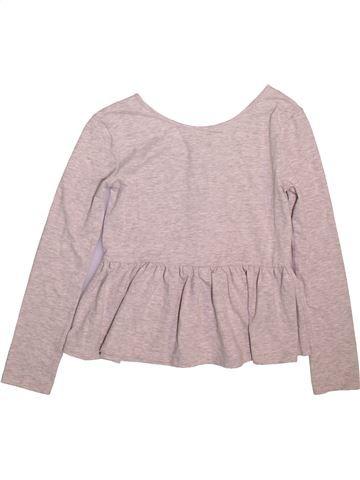 T-shirt manches longues fille RIVER ISLAND gris 12 ans hiver #1491144_1