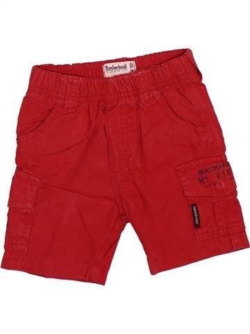 Short - Bermuda garçon TIMBERLAND rouge 12 mois été #1491211_1