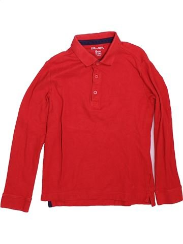 Polo de manga larga niño DPAM rojo 8 años invierno #1491222_1