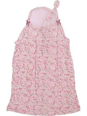 T-shirt sans manches fille PETIT BATEAU rose 8 ans été #1491230_1