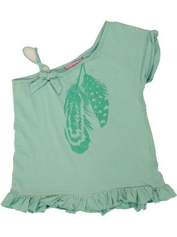 T-shirt manches courtes fille OVS vert 12 ans été #1491338_1
