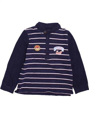 T-shirt manches longues fille SERGENT MAJOR bleu 7 ans hiver #1491359_1