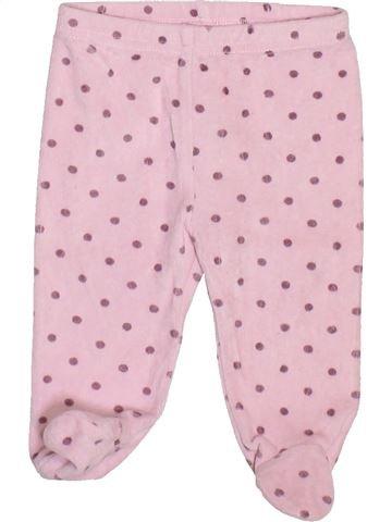 Pantalon fille TAPE À L'OEIL rose 3 mois hiver #1491384_1