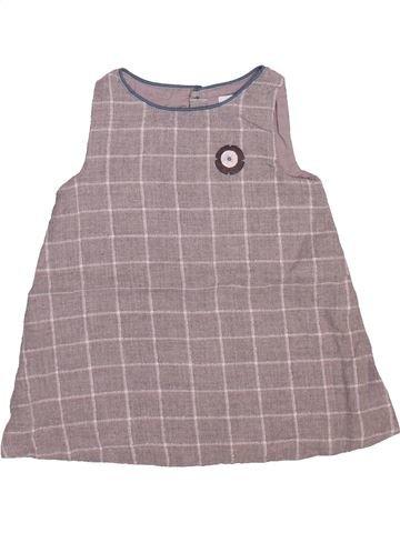 Robe fille OKAIDI gris 6 mois hiver #1491468_1