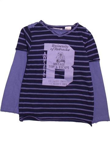 Camiseta de manga larga niño LA REDOUTE CRÉATION azul 4 años invierno #1491509_1