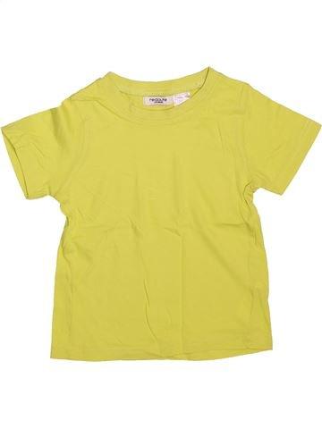 T-shirt manches courtes garçon LA REDOUTE CRÉATION jaune 4 ans été #1491522_1