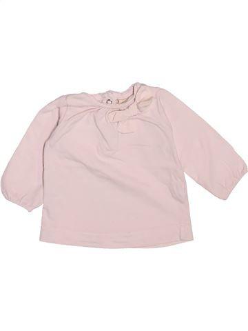 T-shirt manches longues fille ZARA violet 6 mois hiver #1491551_1