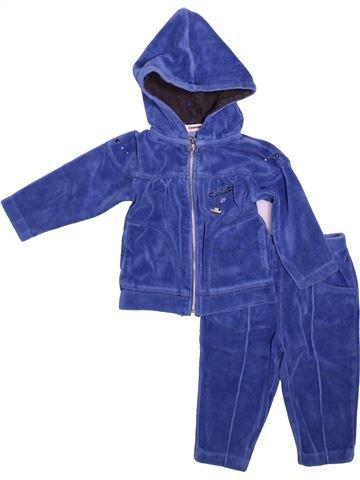 Conjunto niña 3 POMMES azul 6 meses invierno #1491565_1