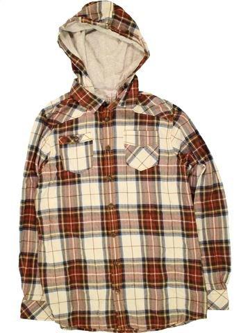 Camisa de manga larga niño DENIM 73 marrón 14 años invierno #1491590_1