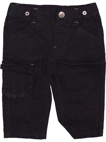 Pantalón niño GEMO negro 6 meses invierno #1491607_1