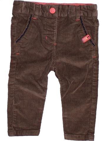 Pantalon fille DPAM marron 6 mois hiver #1491686_1