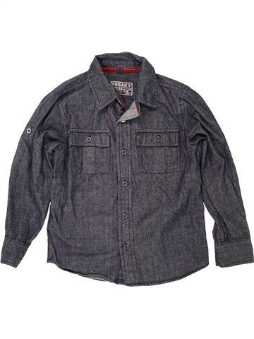 Chemise manches longues garçon SANS MARQUE gris 7 ans hiver #1491795_1