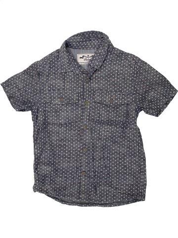 Chemise manches courtes garçon PRIMARK bleu 8 ans été #1491818_1