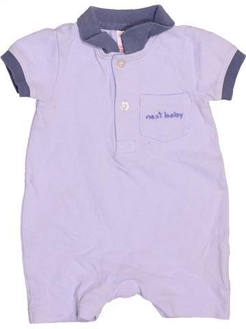 Combinaison courte garçon NEXT violet 1 mois été #1491937_1