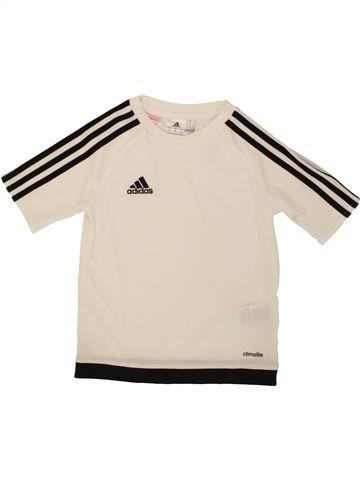 Camiseta deportivas niño ADIDAS violeta 8 años verano #1492123_1