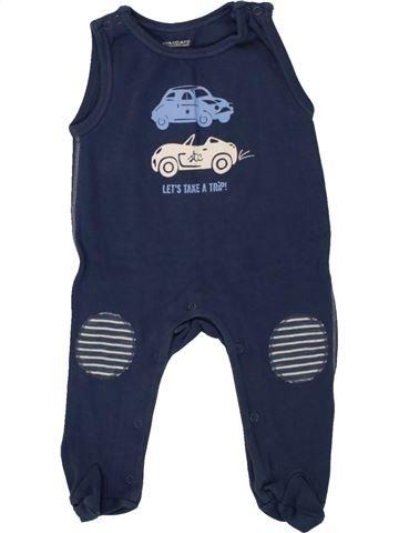 Pyjama 1 pièce garçon STACCATO bleu 3 mois été #1492287_1