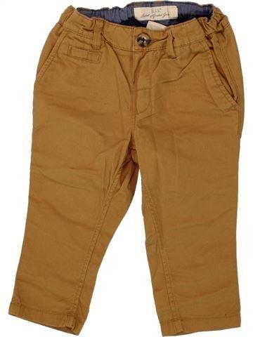 Pantalon garçon H&M marron 12 mois été #1492354_1