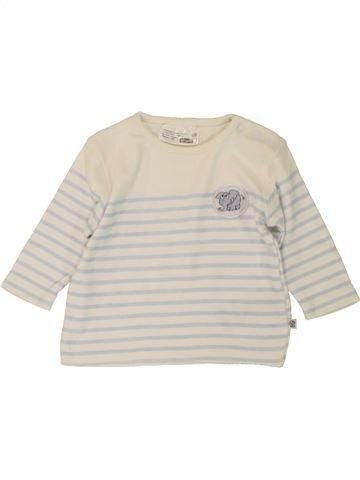 T-shirt manches longues garçon ERGEE bleu 6 mois hiver #1492482_1
