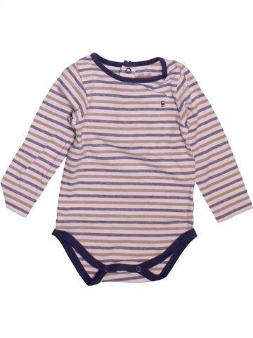 T-shirt manches longues garçon OKAIDI gris 9 mois hiver #1492535_1