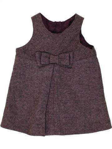 Vestido niña DUNNES STORES violeta 6 meses invierno #1492584_1