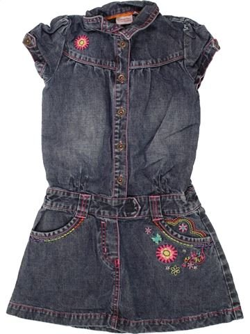Robe fille BUTTERFLY gris 5 ans hiver #1492672_1