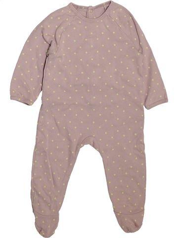 Pyjama 1 pièce unisexe VERTBAUDET beige 9 mois été #1492701_1