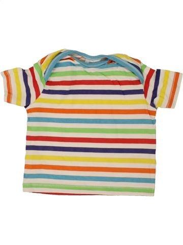 T-shirt manches courtes garçon F&F beige 6 mois été #1492710_1