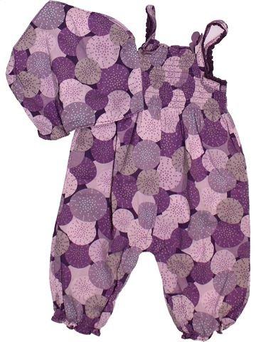 Combinación larga niña VERTBAUDET violeta 9 meses verano #1492734_1