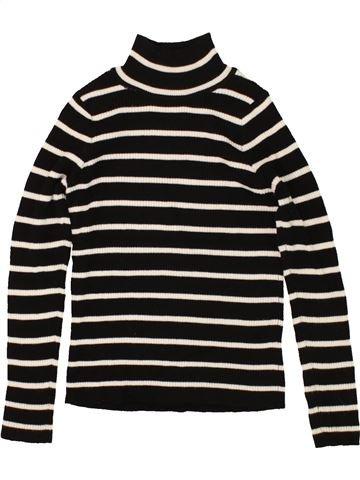 T-shirt col roulé fille PRIMARK noir 11 ans hiver #1492785_1